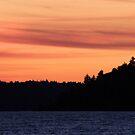 Red Sky Sunset by JimSanders