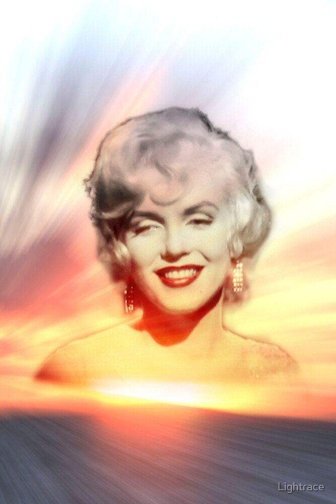 Marilyn Sunset by Lightrace