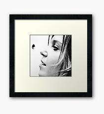 Who's There? Framed Print