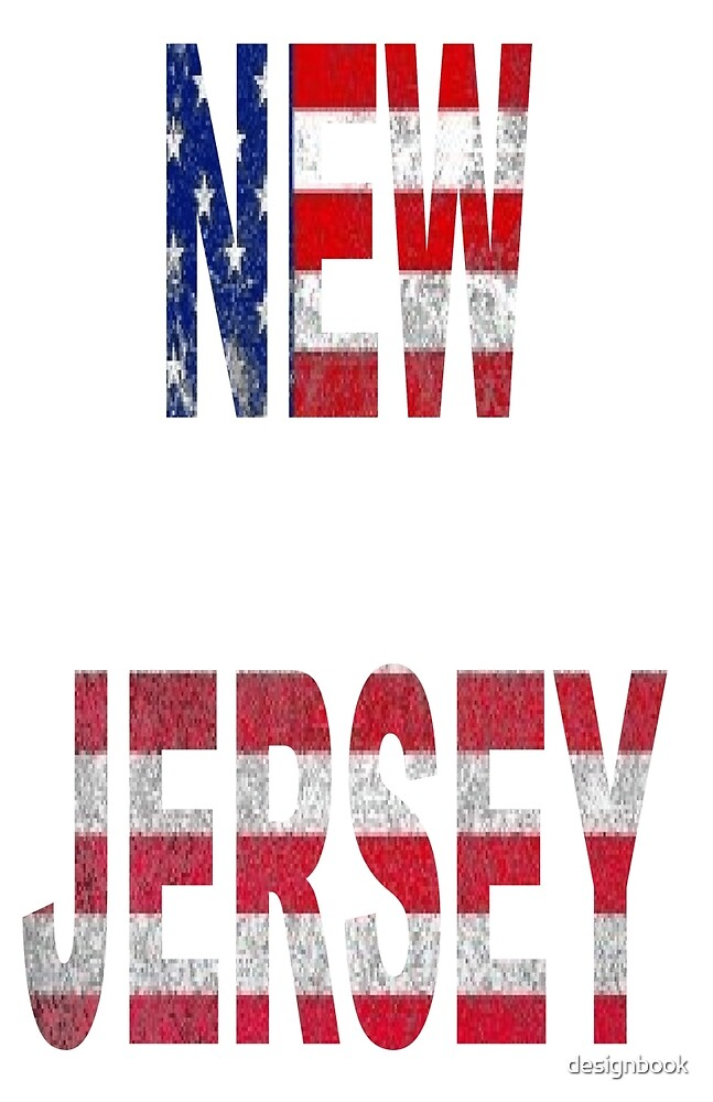NEW JERSEY AMERICAN FLAG DESIGN by designbook