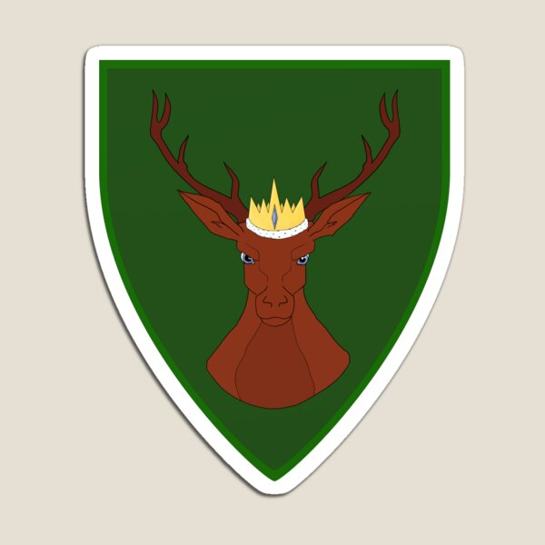 Crowned Stag - 1st Fleet Logo Magnet