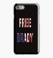 FREE BRADY AMERICAN FLAG iPhone Case/Skin