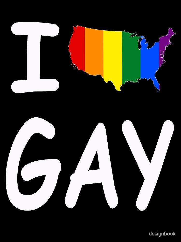 I AMERICA GAY by designbook