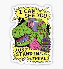 Eye Rex Sticker