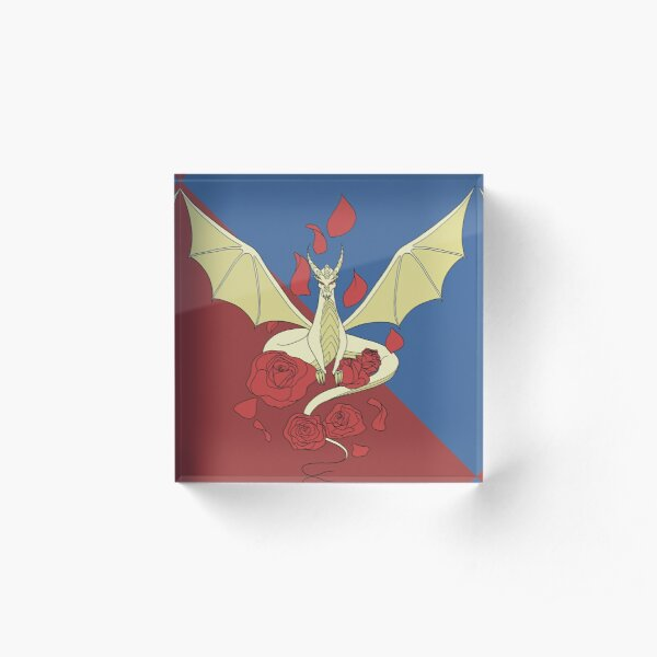 Meadow Wings Heraldry Acrylic Block