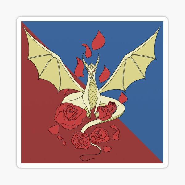 Meadow Wings Heraldry Sticker