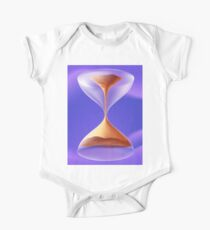 #Physics #Time #water liquid, abstract, #illustration, art, hourglass, horizontal, no people, design, colors, deadline, alertness One Piece - Short Sleeve