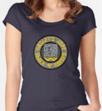 Hadley's Hope Shake 'N' Bakers Distressed Women's Fitted Scoop T-Shirt