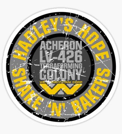 Hadley's Hope Shake 'N' Bakers Distressed Sticker