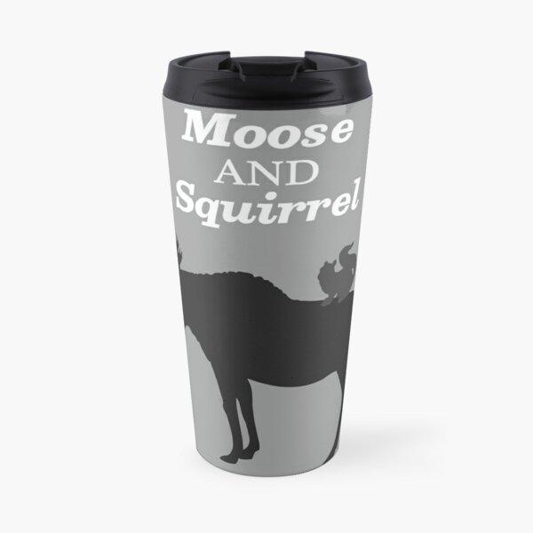 Supernatural Moose and Squirrel  Travel Mug