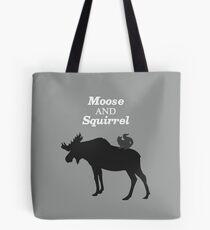 Supernatural Moose and Squirrel  Tote Bag