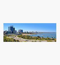 The City Of Perth WA -  Panorama  Photographic Print