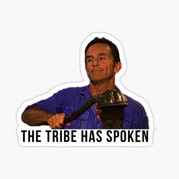 Jeff Probst Survivor- The Tribe Has Spoken Sticker