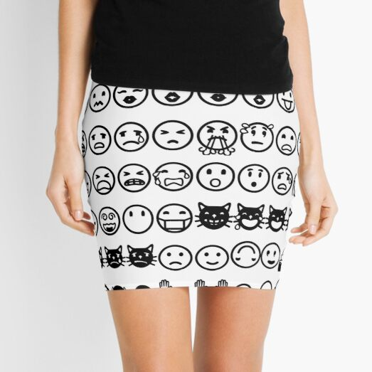 Emoji  絵文字えもじ  /ɪˈmoʊdʒi/ [emodʑi] emojis ideograms smileys electronic messages web pages genres Mini Skirt