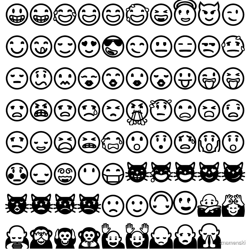 Emoji  絵文字えもじ  /ɪˈmoʊdʒi/ [emodʑi] emojis ideograms smileys electronic messages web pages genres by znamenski