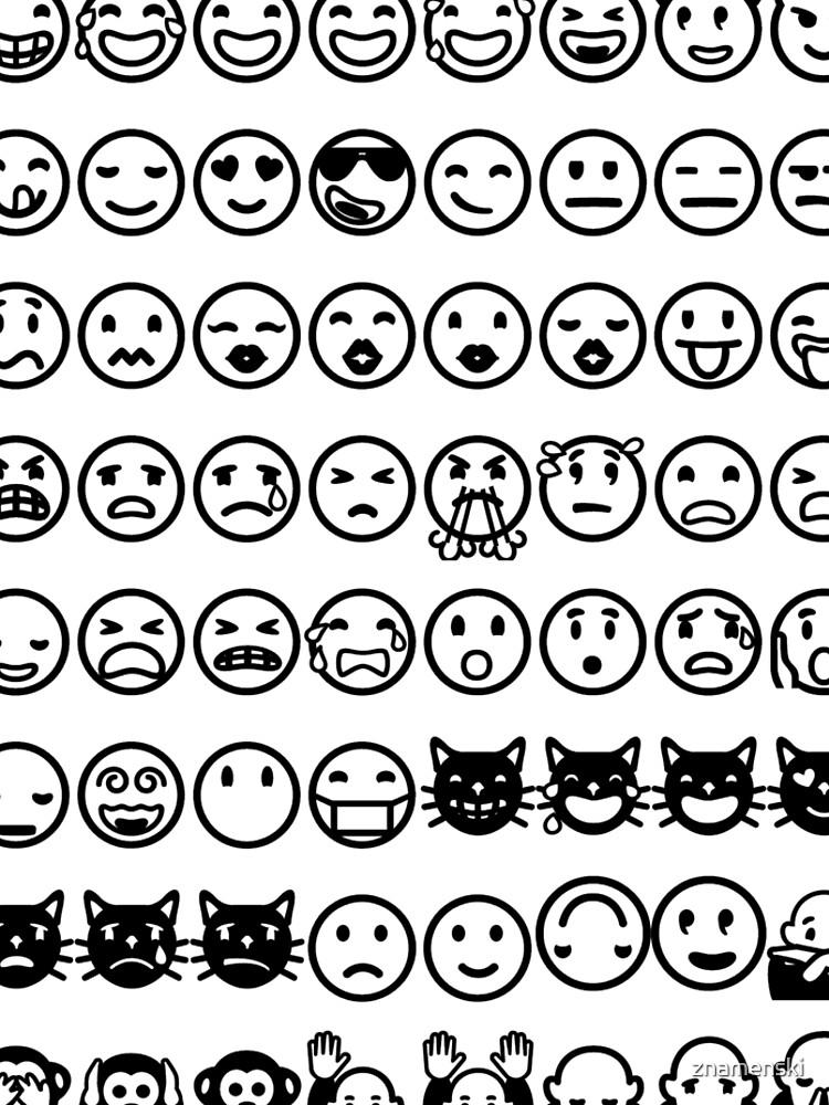 Emoji  絵文字えもじ  /ɪˈmoʊdʒi/ [emodʑi] emojis ideograms smileys electronic messages web pages genres by znamenski