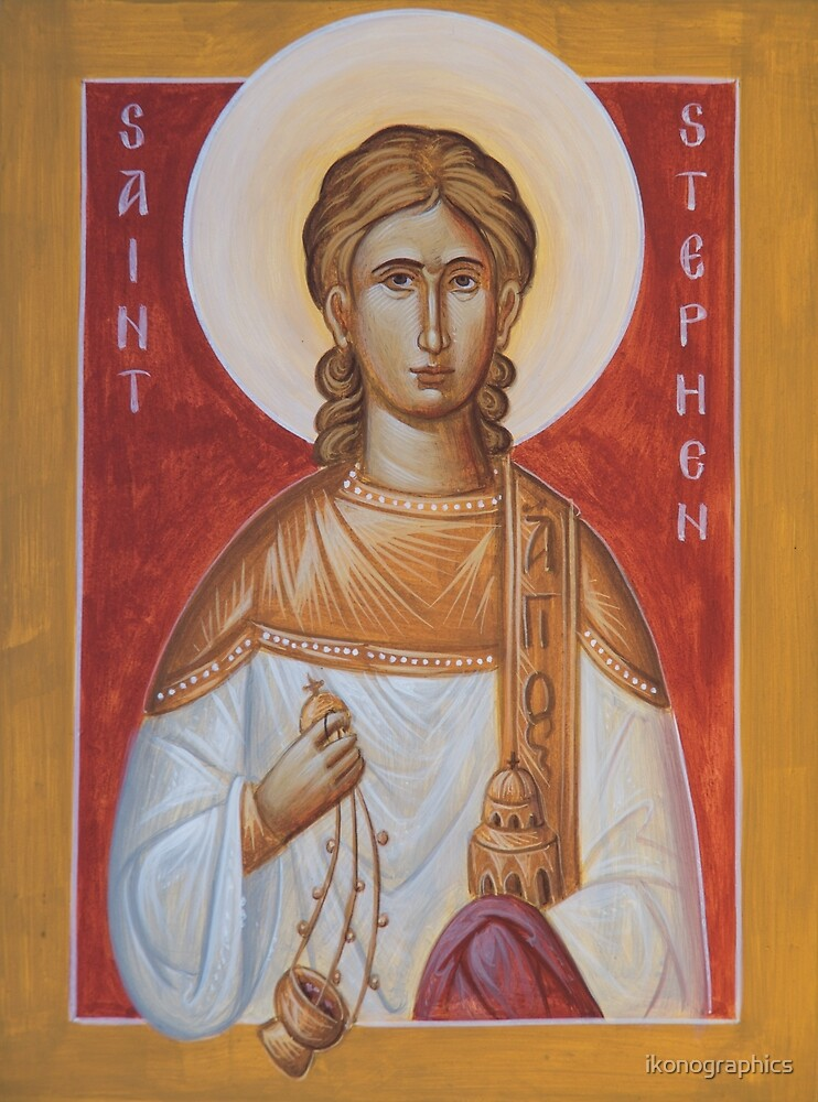 St Stephen the Protomartyr by ikonographics