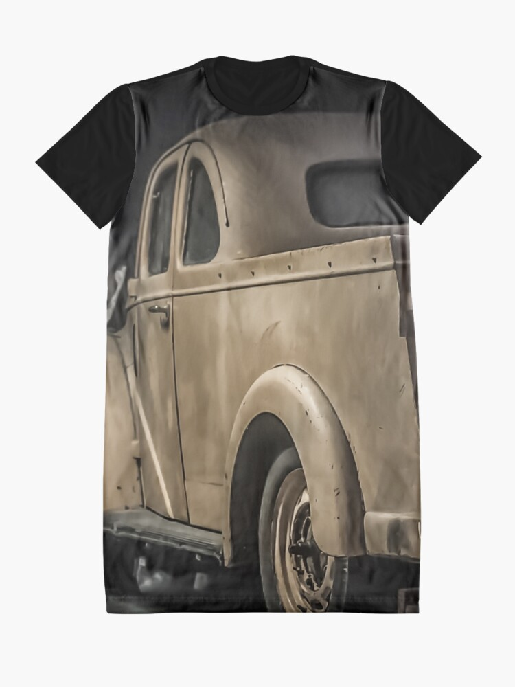 Alternate view of Retro Oldschool Ford Prefect Graphic Design Graphic T-Shirt Dress
