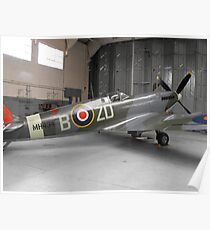 Spitfire mk ix(MH434) Poster