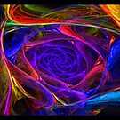"""""""Psychedelic Spirals"""" - Fractal Art by Leah McNeir"""