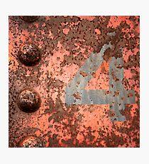 4 iron Photographic Print