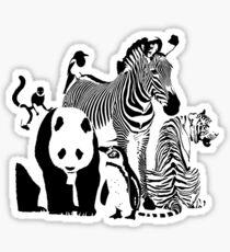 Spots and Stripes Sticker