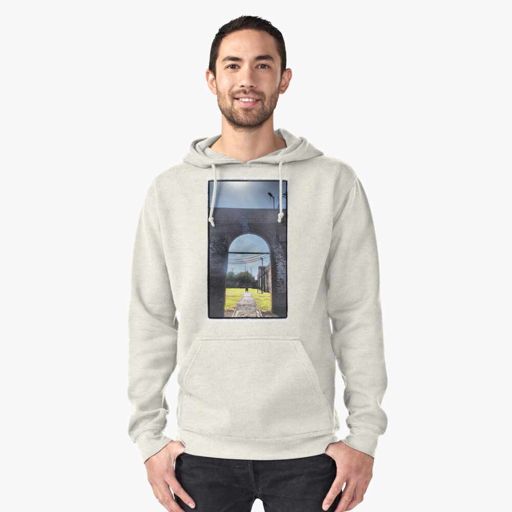 Railway Arch Pullover Hoodie Front