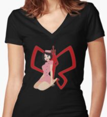 Dr. Girlfriend Women's Fitted V-Neck T-Shirt