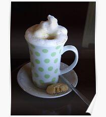 Polkadot Koffie Poster