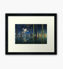 Cities of Tomorrow-Scariss Framed Print