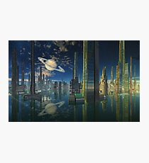 Cities of Tomorrow-Scariss Photographic Print