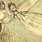 THE ANGEL FLEW by Sonya Smith
