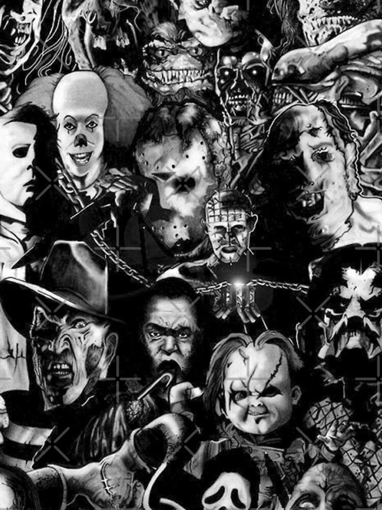 Horror Movie Collage by TerryVazquez