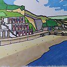 North Beach Swanage Bay 1 von AndyKnillArt
