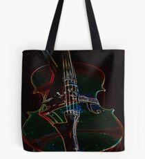 Cello Graphic Tote Bag