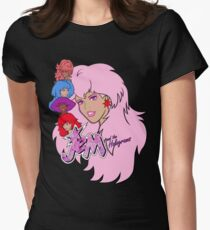 Jem and the Holograms Womens Fitted T-Shirt