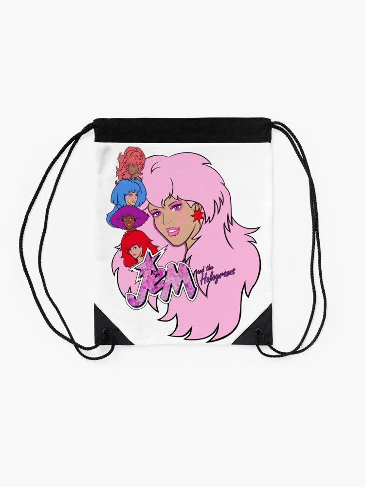 Alternate view of Jem and the Holograms Drawstring Bag