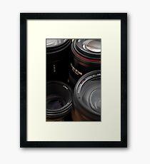 Lenses Framed Print