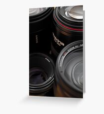Lenses Greeting Card