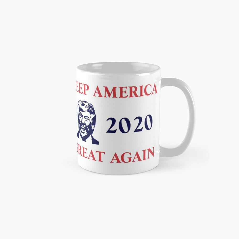 Trump 2020 Keep America Great Again. Gifts Classic Mug