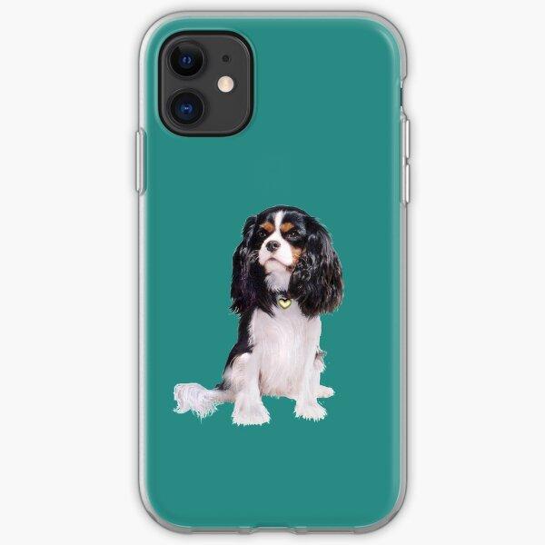 Cavalier King Charles Spaniel - Tri Color (B) iPhone Soft Case