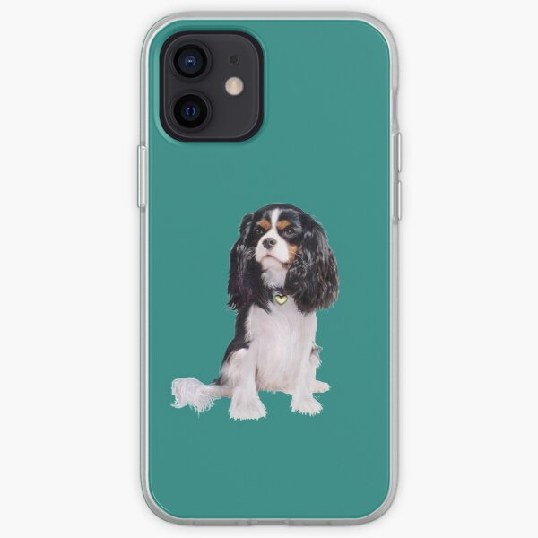Cavalier King Charles Spaniel - Tri Color (B) iPhone Soft Case