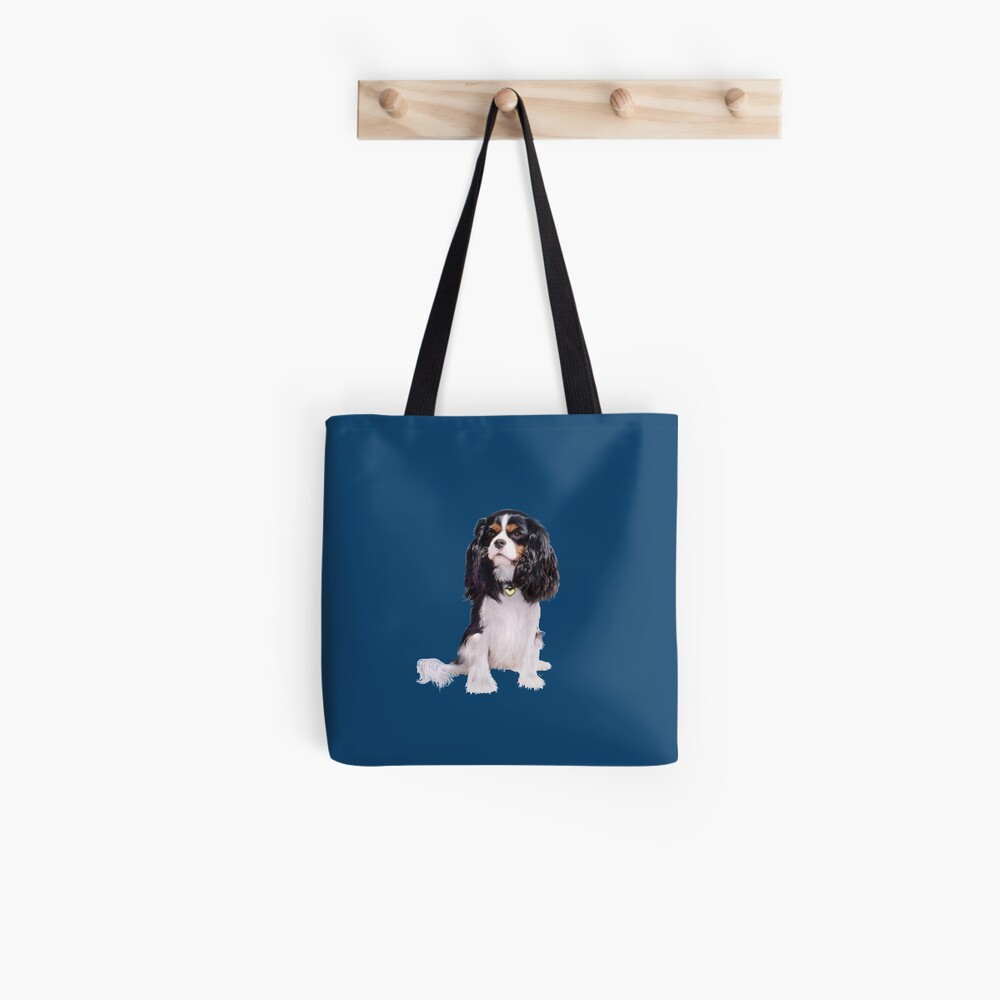 Cavalier King Charles Spaniel - Tri Color (B) Tote Bag