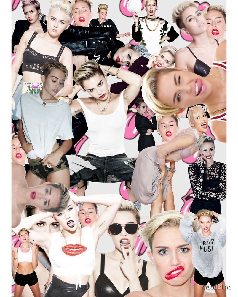 Miley Cyrus <3 by madd3line