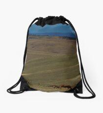 Diagonals Drawstring Bag