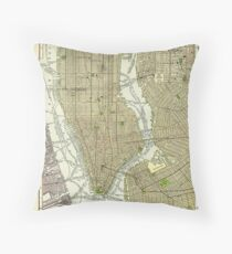 Cojín Mapa Vintage NYC