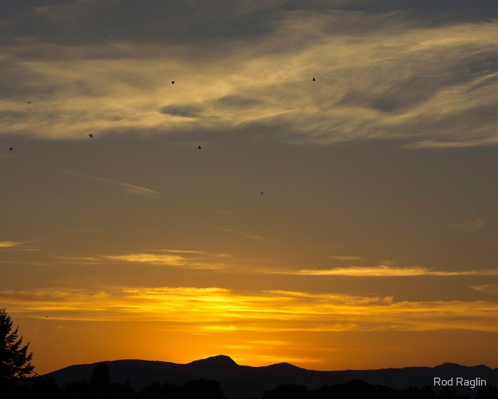 Summer solstice sunset - 7 by Rod Raglin