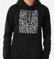 Sudadera con capucha Sociedad de Keith Haring
