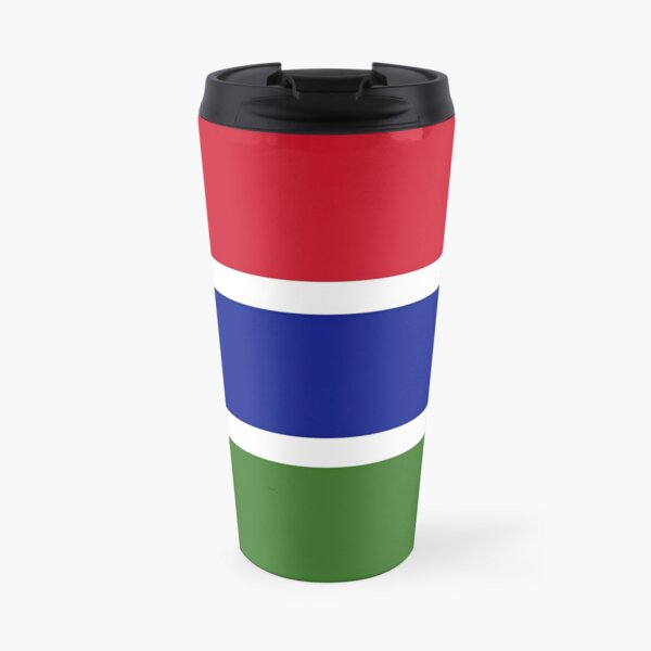The Gambia Flag Travel Mug