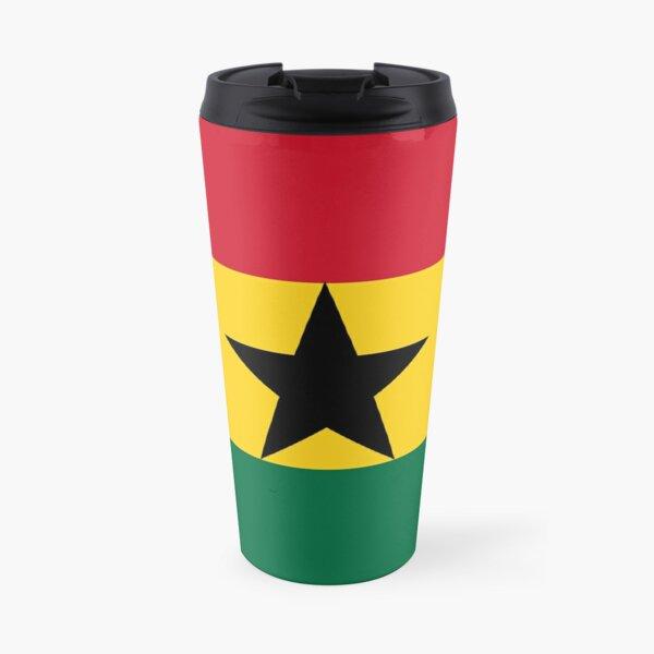 The Ghana Flag Travel Mug